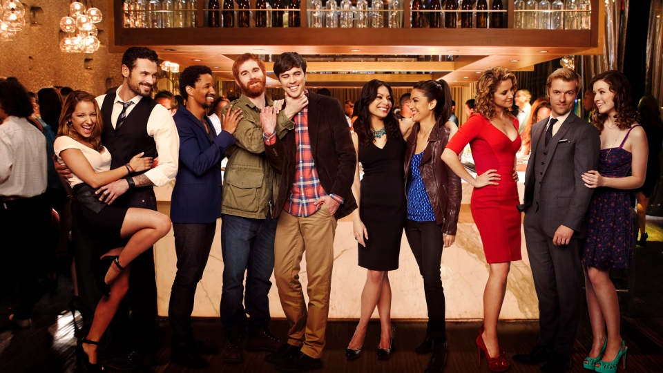 The cast of 'Mixology,' a serialized comedy series from the writers of 'The Hangover'