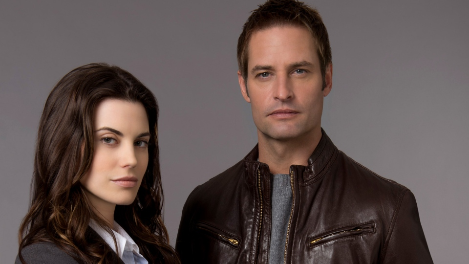 Meghan Ory and Josh Holloway in J.J. Abrams' new mystical drama 'Believe'