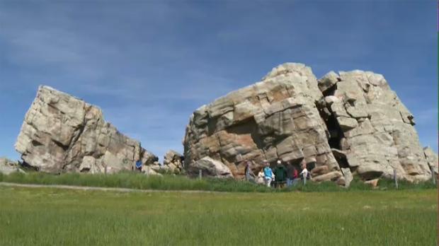 vandals target cherished southern alberta landmark ctv