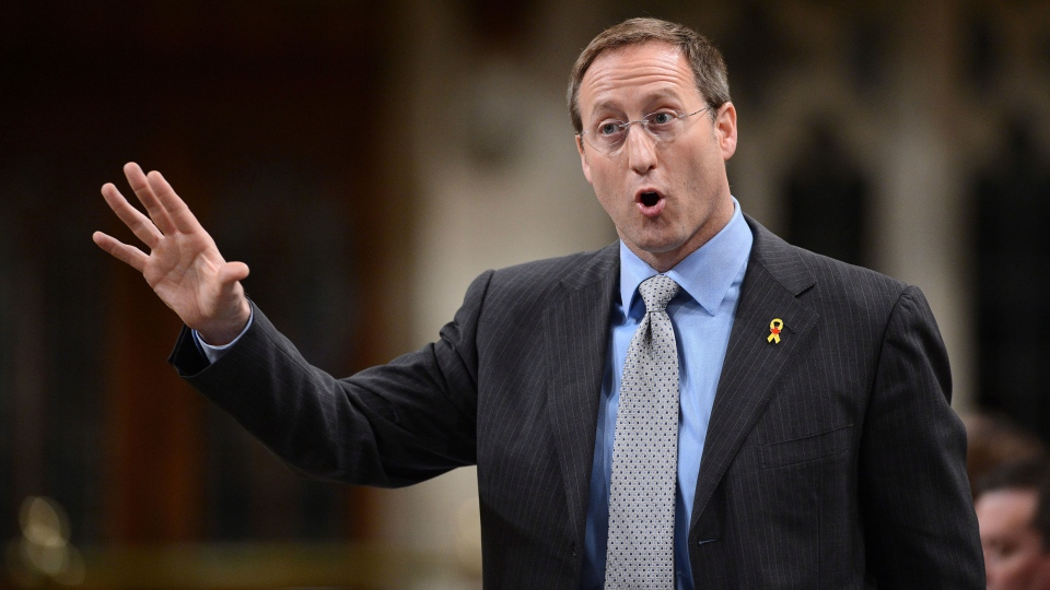 Minister of Defence Peter MacKay responds to a question during question period in the House of Commons on Parliament Hill in Ottawa on Thursday, June 6, 2013. (Sean Kilpatrick / THE CANADIAN PRESS)