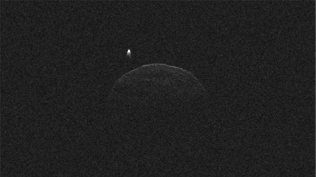 NASA asteroid image moon