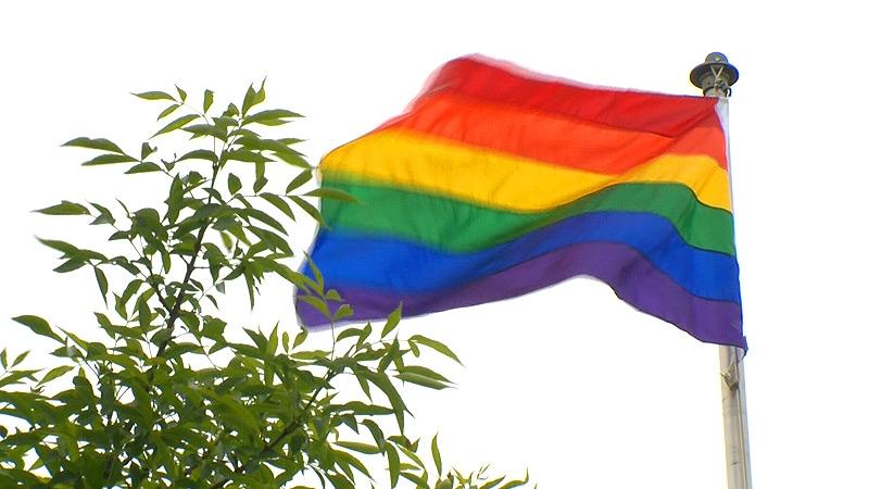 CFB Edmonton, pride flag