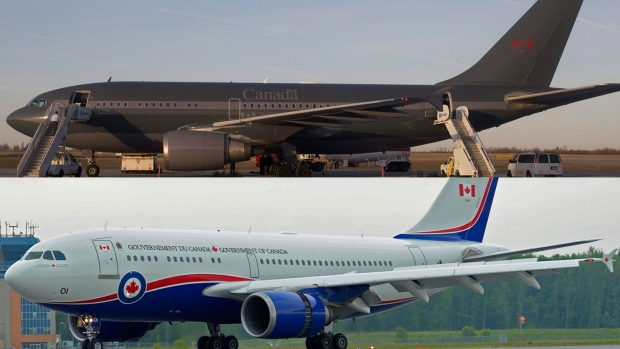 vip jet makeover  is new livery a tribute to canadian history or the pc party