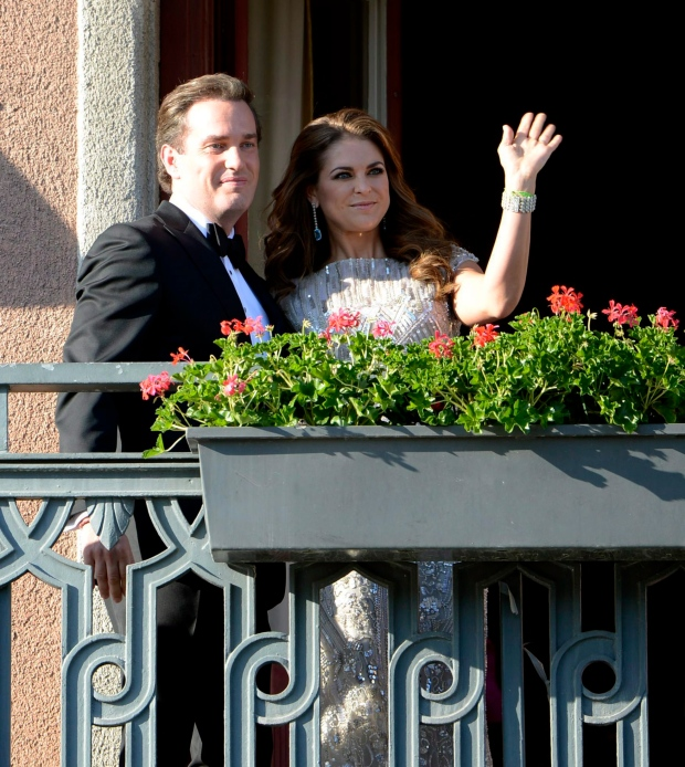 Christopher O'Neill, Princess Madeleine, Stockholm