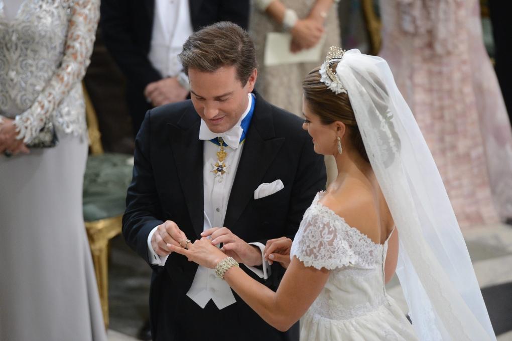 Princess Madeleine, Christopher O'Neill, Stockholm