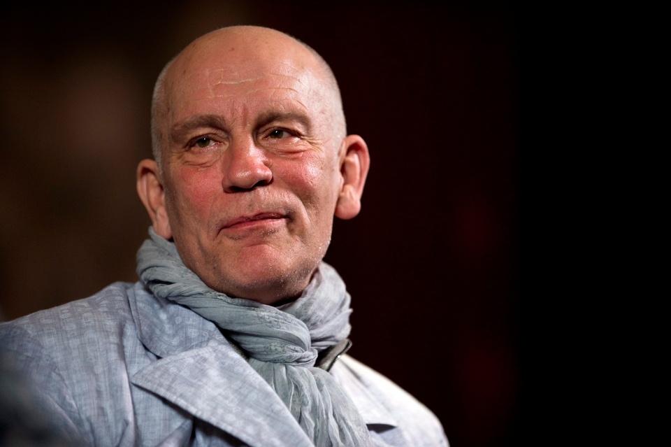 Actor John Malkovich speaks with media at the King Edward Hotel in Toronto to promote his new role as Casanova in The Giacomo Variations, Thursday, June 6, 2013. (Galit Rodan / THE CANADIAN PRESS)
