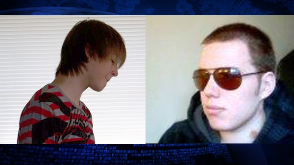 Kruse Wellwood, left, and Cameron Moffat are seen in these undated Facebook photos.