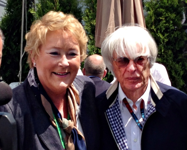 Pauline Marois, Bernie Ecclestone