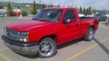 Missing pickup truck