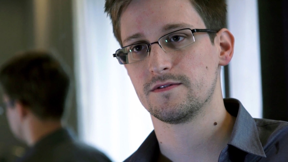 Edward Snowden, who worked as a contract employee at the National Security Agency, speaks to The Guardian from Hong Kong on Sunday, June 9, 2013. (The Guardian)