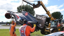 Track worker dies in Grand Prix accident