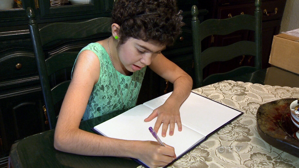 Young hospital patients pen books to help cope
