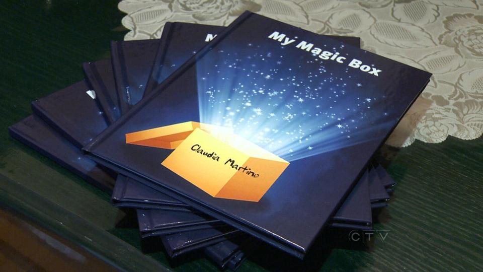 Claudia Martino authored 'My Magic Box,'
