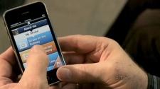 The new speech app, MyVoice, is seen.