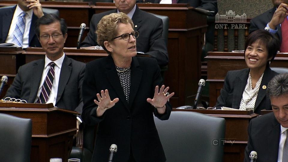 CTV Toronto: Wynne under fire over deleted emails