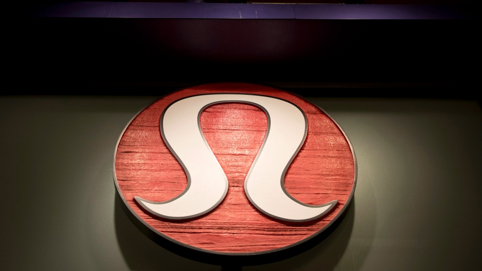 The front of a Lululemon Athletica store is seen in downtown Victoria, B.C., on Sunday, June 9, 2013. (Jonathan Hayward / THE CANADIAN PRESS)