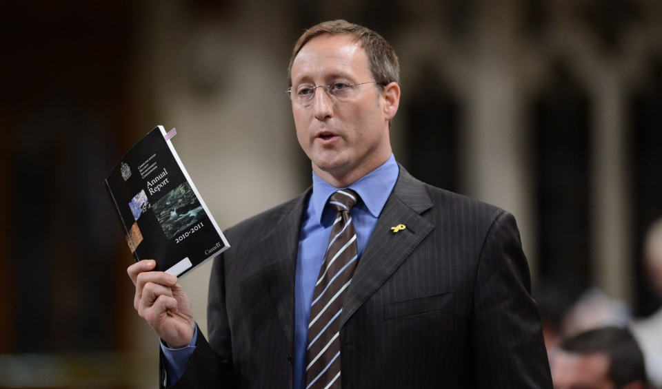 Minister of Defence Peter MacKay responds to a question during question period in the House of Commons on Parliament Hill in Ottawa on Monday, June 10, 2013. (Sean Kilpatrick / THE CANADIAN PRESS)