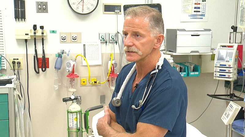 Dr. Brian Dufresne, head of the Emergency Room at Fort McMurray Hospital, said the lack of a heli-pad adds precious time to how long it takes critical patients to arrive at the hospital - and in some cases, the results are fatal.