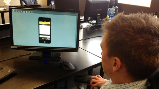 The SpotSquad app was created by Winnipeg entrepreneurs.