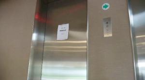 Elevator strike