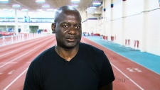 Former Olympic sprinter Ben Johnson