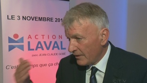 Jean-Claude Gobe is the leader of Action Laval, a new municipal party.