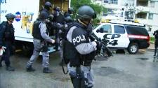 Raids at 320 Dixon Road