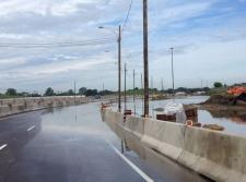 Highway 401 flooding