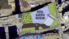 A map shows the geographic footprint of the new museum.