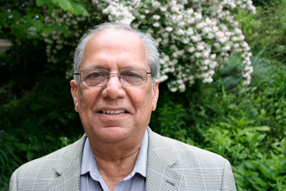 Rama Singh, evolutionary biologist McMaster University, is shown in a handout photo, released on Thursday June 13, 2013. (THE CANADIAN PRESS/HO)