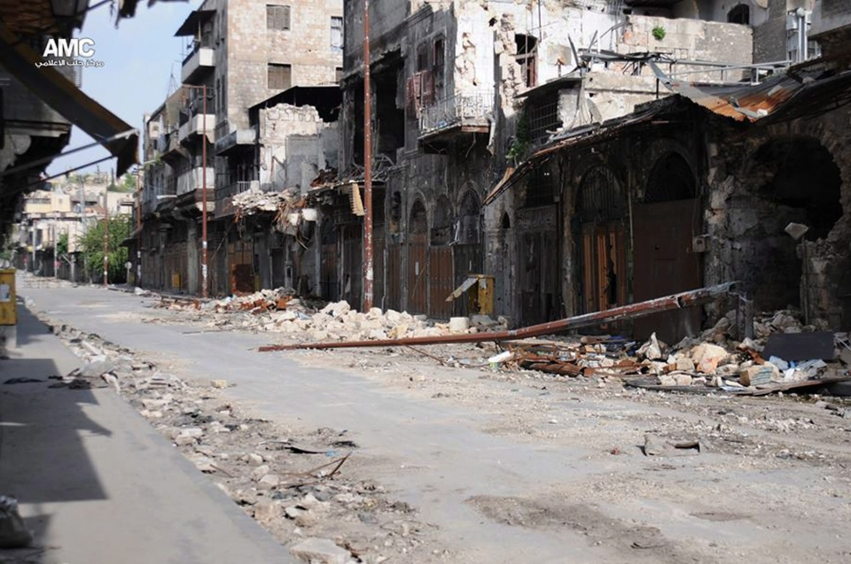 Syrian regime used chemical weapons in Allepo