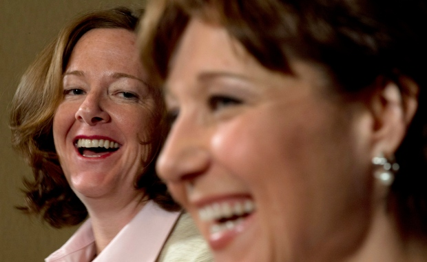 Christy Clark, Alison Redford meet in B.C.