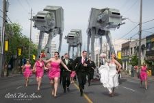 Star Wars wedding photo goes viral