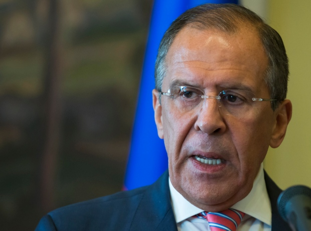 Russian Foreign Minister Sergey Lavrov, Moscow