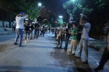 Turkey protestors in Gezi Park