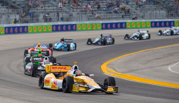Ryan Hunter-Reay in  IndyCar Series