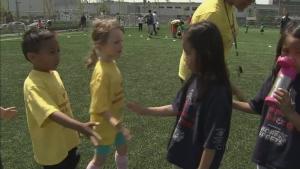 CTV BC: Vancouver kids celebrate soccer