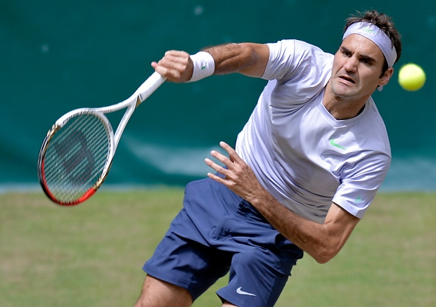 Roger Federer, Gerry Weber Open, Halle, Germany