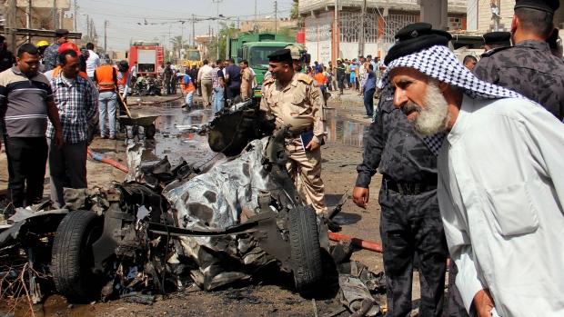 Iraq car bomb attack