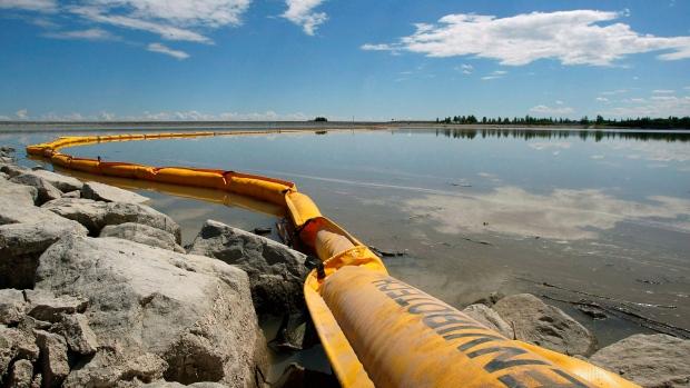 Alberta pipeline leak