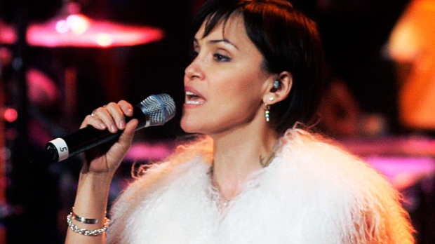 Susan Aglukark performs during the Canadian Aboriginal Music Awards in Toronto on Friday, Nov. 24, 2006. (Nathan Denette / THE CANADIAN PRESS)