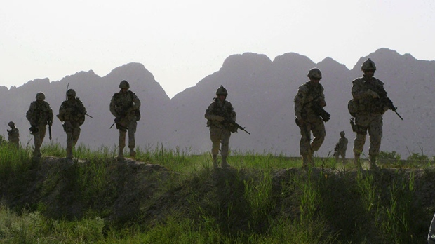 Canadian soldiers head to Afghanistan