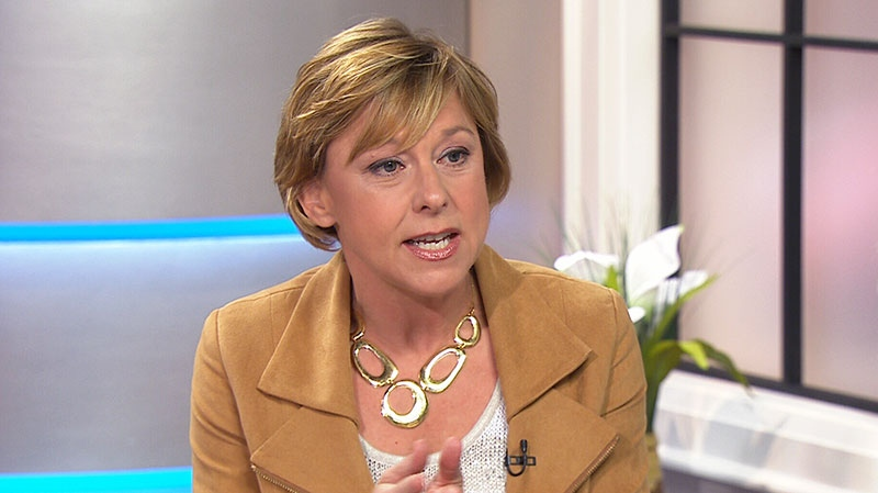 Parenting expert Alyson Schafer speaks on Canada AM, Monday, June 17, 2013.