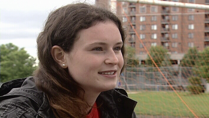 17 year old Grace Caldbick plays competitive soccer with the Nepean Hotspurs. Just over a month ago she was sidelined with a concussion and she can't even attend school.