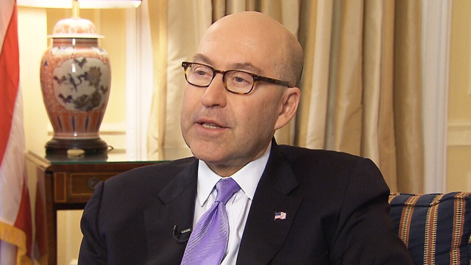 U.S. Ambassador to Canada David Jacobson appears on CTV's Power Play, Monday, June 17, 2013.