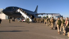 Canadian soldiers headed to Afghanistan