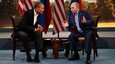 Putin and Obama disagree on Syria