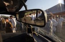 Suicide bombing, Sher Garh, Mardan, Pakistan