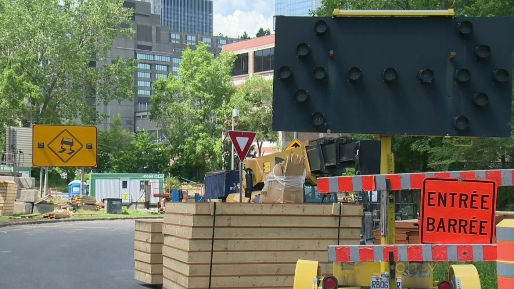 Quebec's annual construction holiday begins | CTV News Montreal