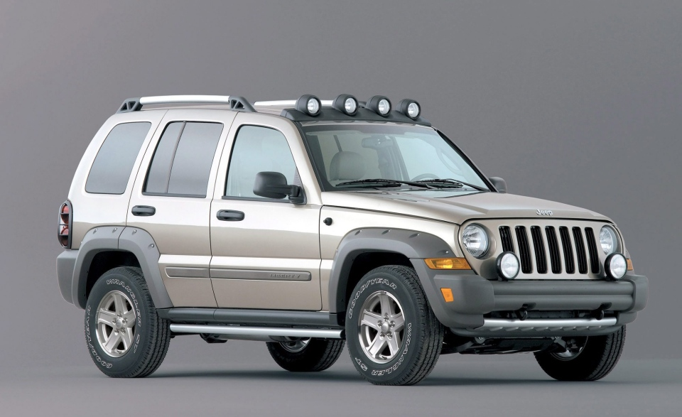 This photo provided by Chrysler shows the 2005 Jeep Liberty Renegade. (AP / Chrysler, file)